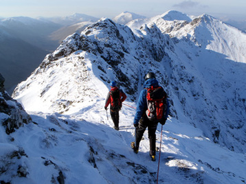 Winter Mountaineering guiding and instruction
